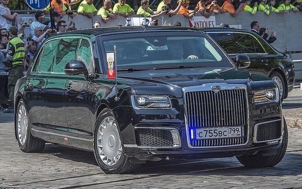Siêu xe bọc thép gần 7.000 tỷ đồng của tổng thống Putin có gì lạ?