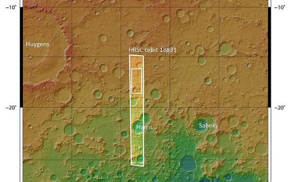Hình chụp Sao Hỏa từ vệ tinh cho thấy vết tích những dòng sông cổ có tuổi thọ cả tỷ năm