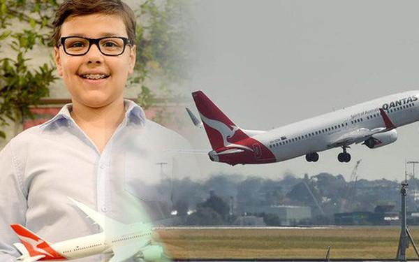 """""""Choáng"""" trước ước mơ làm giàu khi xin bí quyết mở hãng hàng không của cậu bé 10 tuổi nhưng câu trả lời của CEO Qantas mới khiến nhiều người thích thú!"""