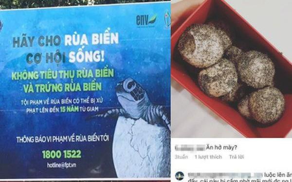 Cô gái bị tố mua trứng rùa biển rồi luộc ăn, không quên khoe trên Instagram khi du lịch Côn Đảo khiến nhiều người phẫn nộ