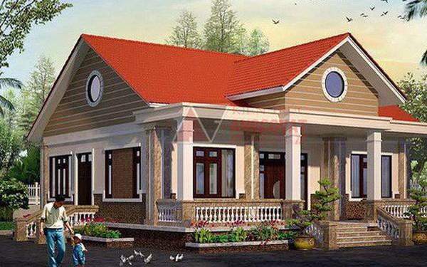Mê mẩn những mẫu nhà cấp 4 kiểu Ấn Độ đẹp như biệt thự