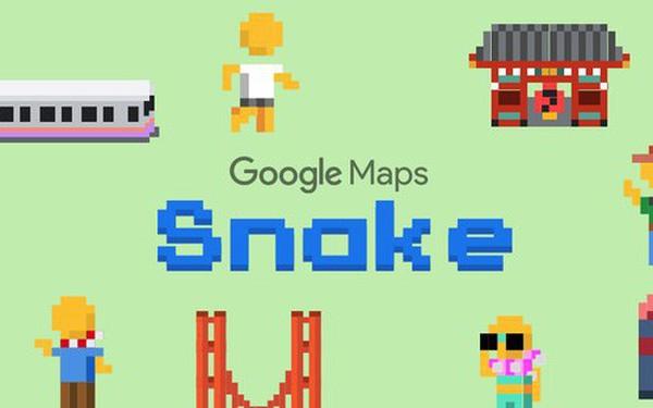 Mở ngay Google Maps lên để chơi Rắn săn mồi đi, quà Google tặng nhân dịp Cá tháng Tư