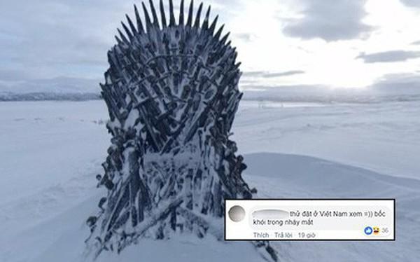 """Nhà không có gì ngoài điều kiện, """"Game of Thrones"""" chơi trò giấu ghế khắp địa cầu, fan khuyên: """"Đừng đặt ở Việt Nam!"""""""