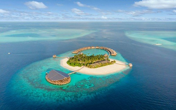 Cận cảnh hòn đảo sang trọng nhất thế giới, chỉ dành cho người lớn ở Maldives