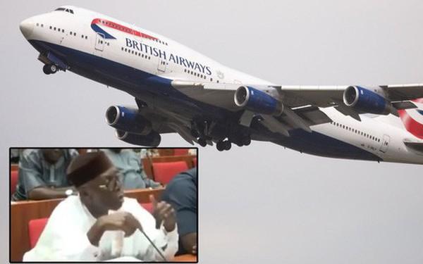 Giàu như dân Nigeria: đặt pizza từ London, ship về nước bằng máy bay của British Airways