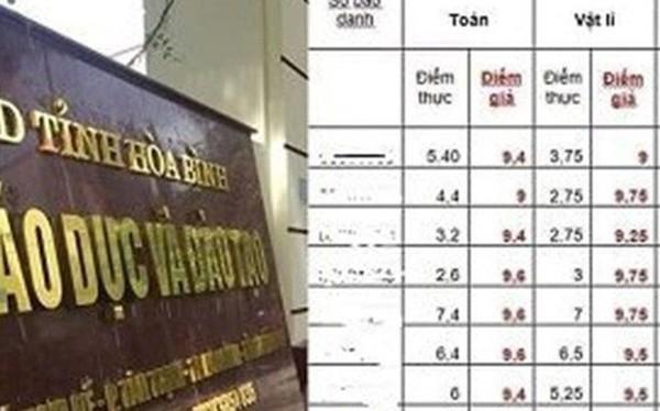 28 sinh viên Hoà Bình gian lận điểm thi bị trả về: Thí sinh Hà Giang xử lý sao?