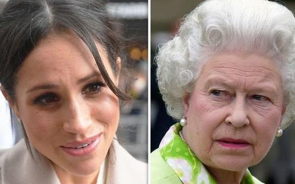"""Hé lộ cuộc đối thoại """"nảy lửa"""" giữa Nữ hoàng Anh với cháu trai Harry về Meghan khiến bà bầu này cứng họng, Hoàng tử thì bất lực"""