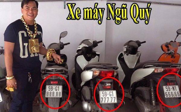 Phúc XO - Người đeo nhiều vàng giả nhất Việt Nam - có dàn xe biển ngũ quý cũng là đồ giả nốt