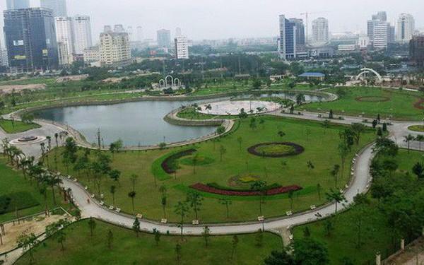 Yêu cầu Hà Nội báo cáo vụ xây bãi đỗ xe ngầm trong công viên Cầu Giấy