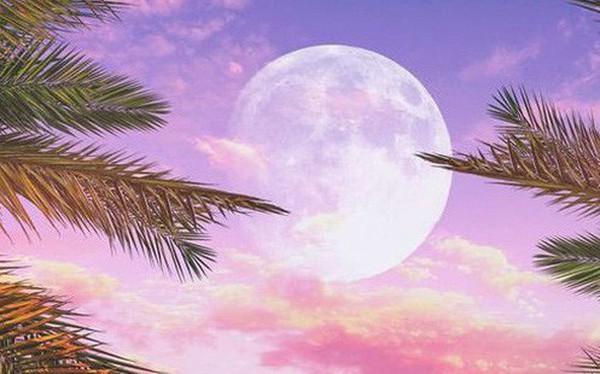 Thứ Sáu này, trên bầu trời sẽ xuất hiện Trăng Hồng