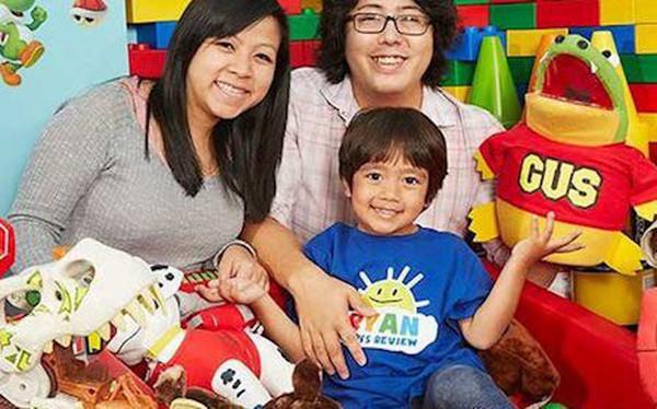 Ryan ToysReview: 5 sự thật về cậu bé 7 tuổi kiếm tiền giỏi nhất thế giới