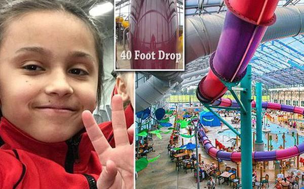 Lần đầu tiên được chơi trượt ống ở công viên nước, bé gái 10 tuổi thiệt mạng vì quá phấn khích