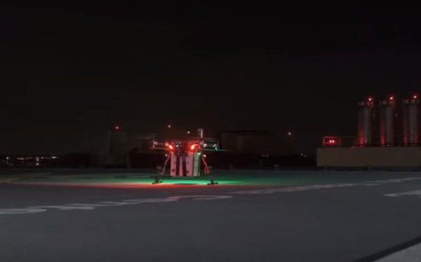 Lần đầu tiên tại Mỹ có một chiếc drone được sử dụng để vận chuyển nội tạng cấy ghép cho bệnh nhân