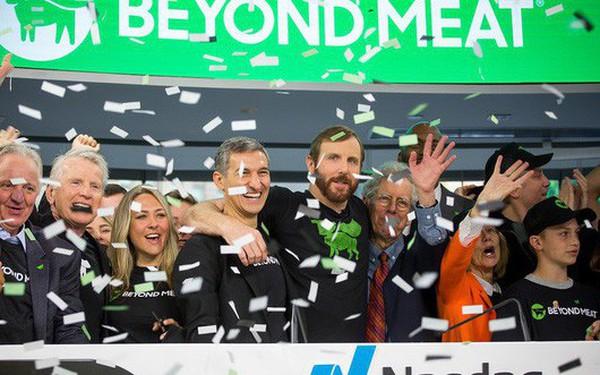 """Vừa IPO, vốn hóa công ty """"thịt thực vật"""" tăng gấp gần 3 lần"""