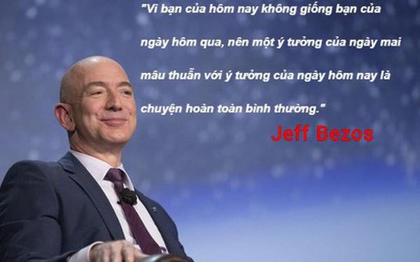 Tá»· phú Jeff Bezos: Người thông minh sẽ đưa ra quyết định hoàn toàn khác biệt so với số đông còn lại