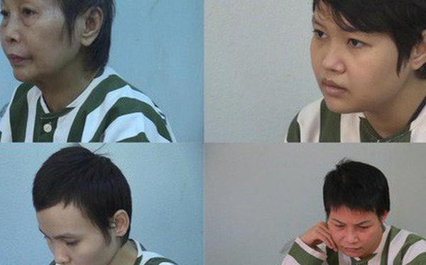 """Chân dung 4 phụ nữ vừa bị khởi tố trong vụ """"bê tông xác người"""""""