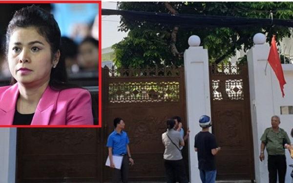 Bà Lê Hoàng Diệp Thảo đóng cửa nhà riêng, chưa thể thi hành án