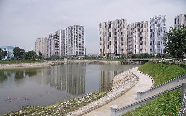 Công viên 300 tỷ cạn nước, ô nhiễm những ngày nắng gắt