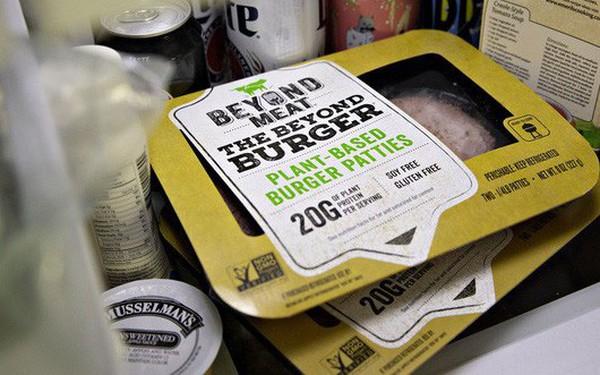 """Cổ phiếu công ty """"thịt thực vật"""" Mỹ tăng hơn 600% sau IPO"""