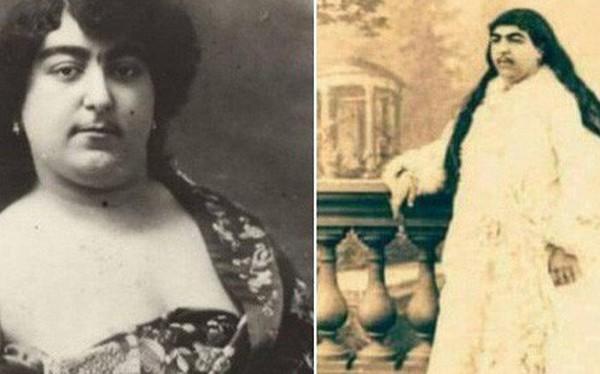 """Choáng với nhan sắc """"nghiêng nước nghiêng thành"""" của 2 cô công chúa con vua Ba Tư thế kỷ 19"""
