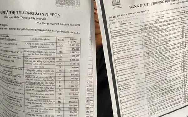"""Sơn Nippon ở Nha Trang bị tố """"chặt chém"""" khách hàng"""