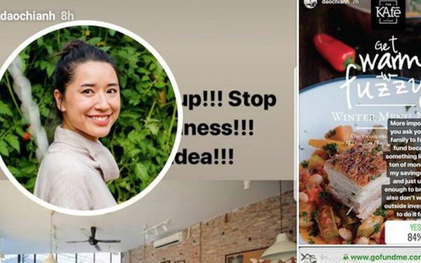 """Cư dân mạng phản ứng mạnh trước thông tin CEO Đào Chi Anh gọi vốn cộng đồng để mở lại The KAfe: """"Có phải di sản đâu mà phải bảo tồn?"""""""
