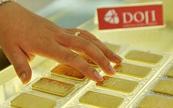 Giá vàng tăng tiếp, lên gần 39,5 triệu đồng/lượng