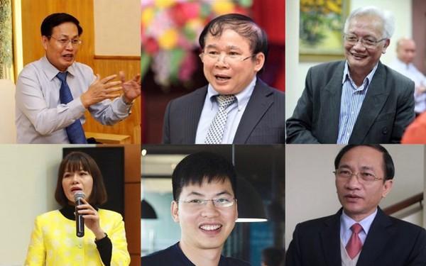 7 thành viên tham gia tổ tư vấn của Ủy ban quốc gia đổi mới giáo dục