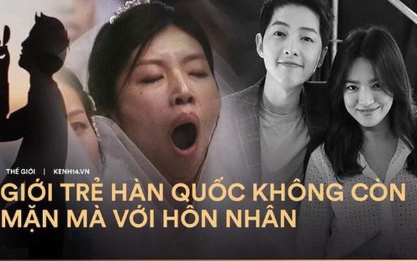 Đẹp đôi như Song - Song còn ly dị, bảo sao giới trẻ Hàn ngày nay kiên quyết: Không hẹn hò, không kết hôn và không sinh con
