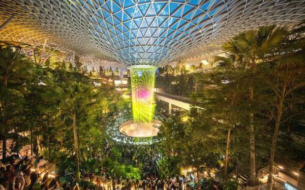 """""""Chất lừ"""" với Apple Store thứ 2 ở Singapore: Đặt ở sân bay mà cứ ngỡ lạc vào rừng tiên trong phim ảnh"""