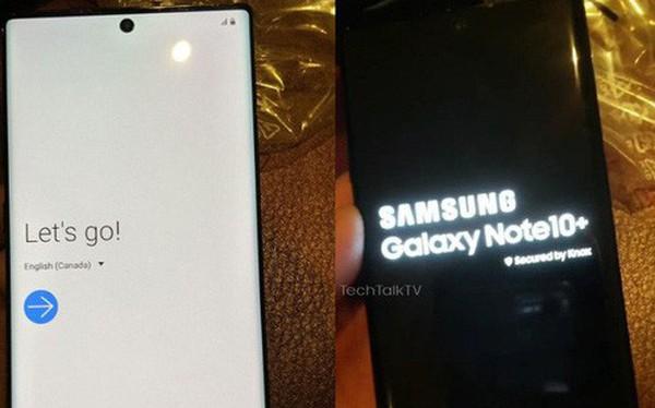 Lộ diện những hình ảnh trên tay đầu tiên của Samsung Galaxy Note10