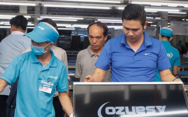 """Asanzo tính việc ghi sản phẩm """"Sản xuất tại Việt Nam, linh kiện nhập khẩu"""""""