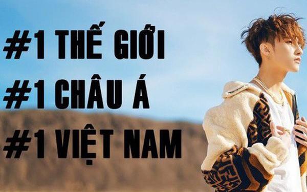 """12 tiếng sau khi """"Hãy trao cho anh"""" """"càn quét"""": #1 Việt Nam, #1 Châu Á, #1 Thế giới và nhiều hơn thế nữa!"""