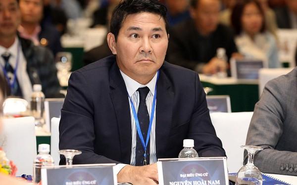 Doanh nhân Nguyễn Hoài Nam từ chối thế chỗ ông Cấn Văn Nghĩa ở VFF