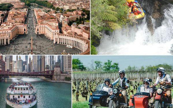 Trang Tripadvisor gọi tên 10 trải nghiệm du lịch đáng giá nhất thế giới trong năm 2019, đặc biệt có 2 địa điểm gần Việt Nam