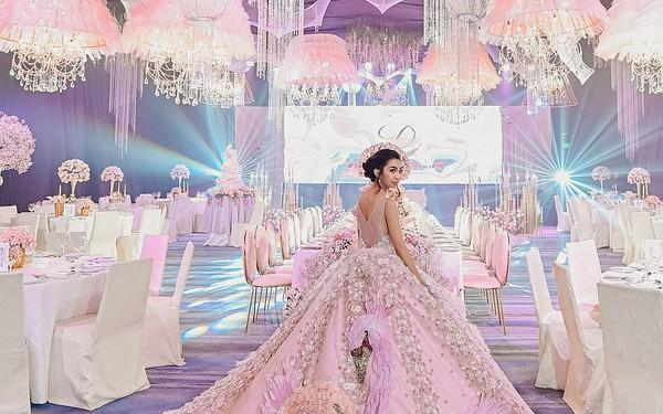 Tiệc sinh nhật xa xỉ gần 700 triệu của ái nữ nhà giàu, khách mời còn được tặng túi Louis Vuitton mang về
