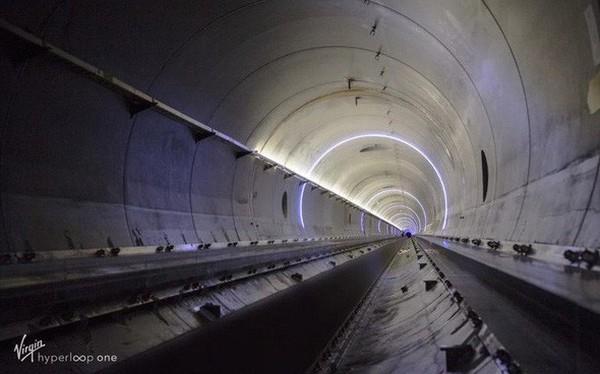 Sắp có tàu hyperloop dài nhất thế giới tại Ả Rập Xê-Út với chiều dài quãng đường lên tới 35km
