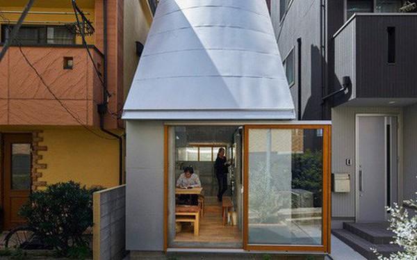 Không hổ danh là thiết kế của Nhật, ngôi nhà 19m² nhỏ xíu này gần như không có một điểm trừ trong thiết kế và bài trí