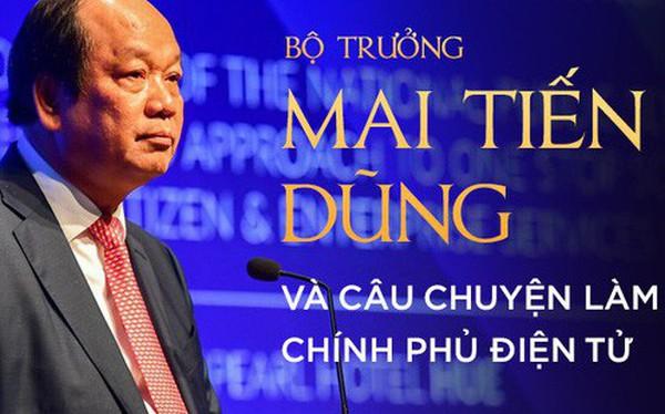 Bộ trưởng Mai Tiến Dũng: Làm chính phủ điện tử, điều quan trọng nhất là phải dám vứt bỏ quyền lợi!