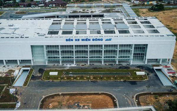 Bên trong khu phức hợp bến xe Miền Đông mới, vốn đầu tư 4.000 tỉ đồng trước ngày đi vào hoạt động