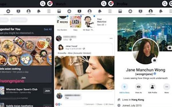 Facebook sắp ra tính năng Dark Mode