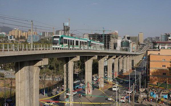 Dự án đường sắt Cát Linh - Hà Đông nhìn từ thủ đô của Ethiopia