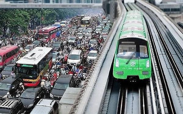 43 tuyến xe buýt sẽ bị nắn lộ trình theo trục metro Cát Linh - Hà Đông