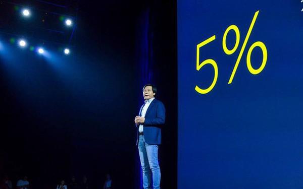 """Từng hứa """"Không bao giờ thu lãi quá 5% từ phần cứng"""", nay Xiaomi không còn công bố con số này nữa"""