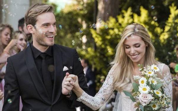 YouTuber nổi tiếng bậc nhất thế giới PewDiePie vừa chính thức kết hôn, mời xem chùm ảnh cưới của anh