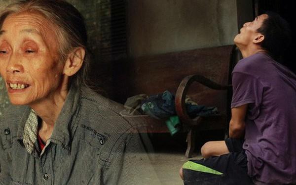 """Xót xa cụ bà đơn thân hơn 30 năm chăm sóc con trai tật nguyền: """"Ở cái tuổi 70, khi tôi chết đi không biết thằng Lâm sẽ ra sao"""""""
