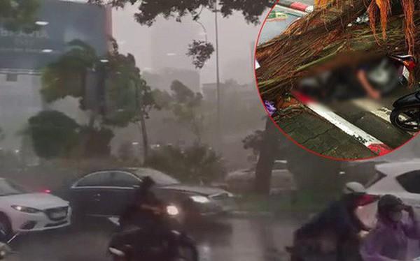 Cây xanh đổ khắp Hà Nội do ảnh hưởng của bão số 4, một thanh niên 26 tuổi tử vong thương tâm