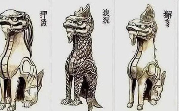 Cung điện Trung Hoa xưa thường dựng tượng quái thú trên mái nhà, ý nghĩa là gì?