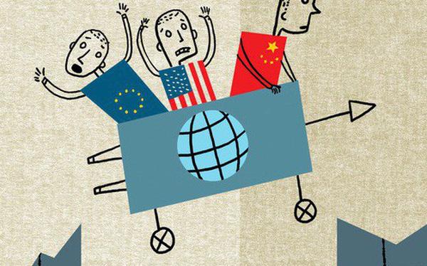 Triển vọng của nền kinh tế toàn cầu sẽ ra sao khi bị chia rẽ bởi bất ổn ở châu Âu, một nước Mỹ với chủ nghĩa dân tộc và sự bành trướng của Trung Quốc?