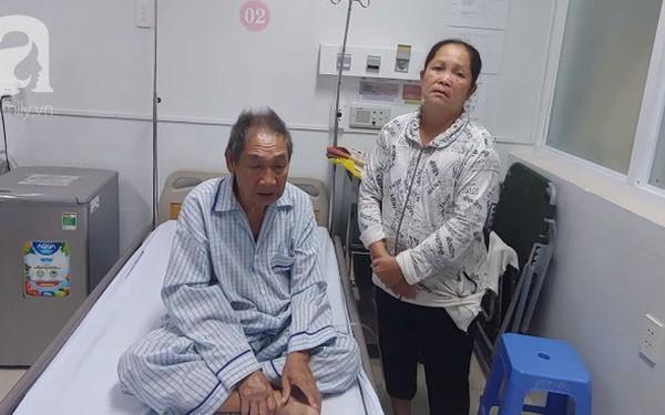 """Nghẹn ngào câu nói của cụ ông 84 tuổi dành cho vợ trong bệnh viện: """"7 đứa con không lo được, bà bỏ cho tôi chết đi"""""""